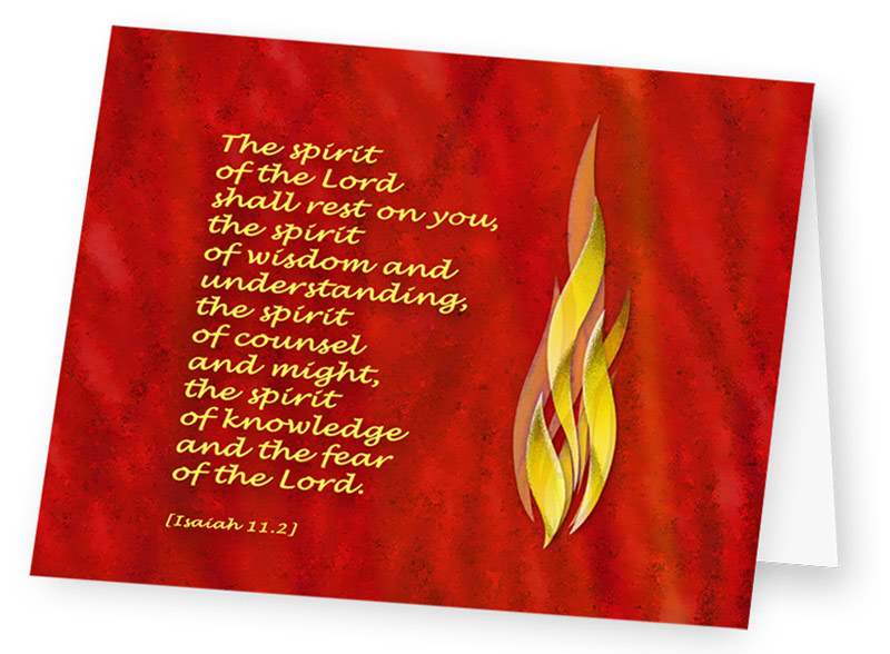 Card - The Spirit of the Lord