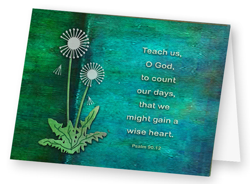 Card - Teach Us O God
